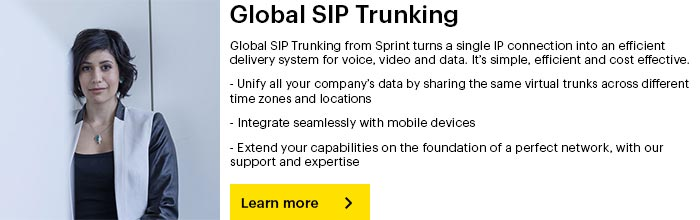 Global SIP Trunking from Sprint
